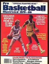 1979/1980  Basketball Illustrated With Larry Bird & Magic Johnson Cover EXMT+