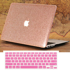 """2in1 Silk Leather Coated Gold Hard Case Cover for MacBook Pro Retina Air 11""""/13"""""""
