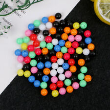 100Pcs Round Fishing Rig Beads Sea Fishing Lure Floating Float Tackles Colorful