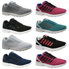 NEW MENS LADIES RUNNING TRAINERS FASHION CASUAL GYM WALKING SPORTS SHOES SIZE ZX