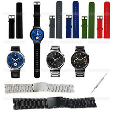 Stainless Steel / Silicone Watch Band Strap Steel Buckle For Huawei Smart Watch