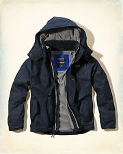 2015 Hollister Men All-Weather outerwear jacket size L , XL new with tags