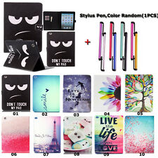 New PU Leather Magnetic Flip Wallet SmartShell Holder Case Cover For Apple Ipad