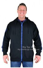 Big Mens Black Louie James Rocky Hoodie 2xl 3xl 4xl 5xl 6xl 7xl 8xl