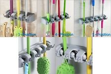 TR9371 Wall Mounted Mop Organizer Holder Brush Broom Hanger Storage Rack Tool