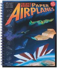 THE KLUTZ BOOK OF PAPER AIRPLANES - DOUG STILLINGER (HARDCOVER) NEW