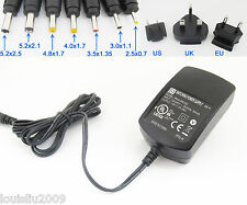 1pc PHIHONG 5V 3A US/EU/UK Switching AC Power Adapter to DC Power Supply Cable