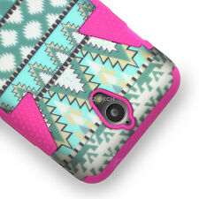 For ZTE Obsidian Z820 Design Dynamic Tuff Impact Hybrid Case Cover Accessory