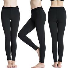 Womens Pro Tight Training Long Pants Wicking Sports Fitness Yoga Pants Trousers