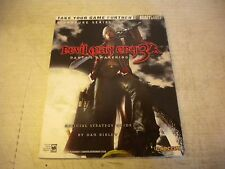 OFFICIAL STRATEGY GUIDE DEVIL MAY CRY 3 DANTE'S AWAKENING SIGNATURE SERIES