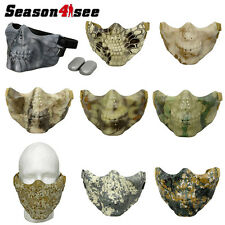 1X Airsoft Tactical CSK TPU Half Face Safety Mask Paintball Protector Halloween