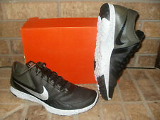 New Nike FS Lite Trainer 2 Mens Training Shoe/683141 013 Black-Metallic Silver