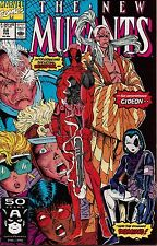 New Mutants #98 First Appearance of Deadpool/Rob Liefeld/Fabian Nicieza/Marvel