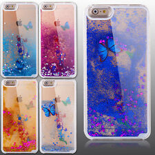 Jaccy- Hot Sale Flower Bling Crystal Quicksand Dynamic Hard Back Skin Case Cover