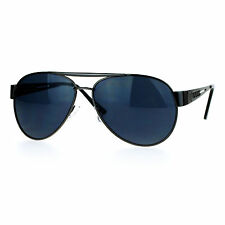 Designer Fashion Aviator Sunglasses Metal Frame Unisex Aviators