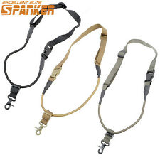 1X Tactical Single One Point CQB Quick Release Hook Bungee Rifle Gun Sling Strap