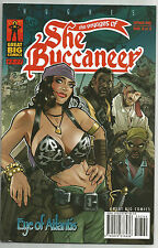 The Voyages of She Buccaneer #2-7 Lot/Hughes/2008 Great Big Comics