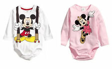 Infant Baby Girl Boy Long Sleeve Newborn Bodysuit Playsuit Romper Clothes 0-6M