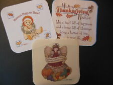 """Fall, Harvest, Thanksgiving Potholder fabric pieces, 6.5""""x 6.5"""""""