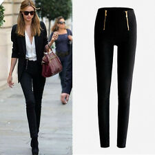 Sexy Womens High Waist Slim Skinny Leggings Stretchy Pants Jeggings Pencil Pants