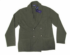 Ralph Lauren Purple Label Mens Italy Cashmere Shawl Button Cardigan Sweater New