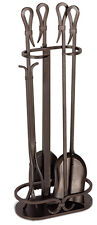 Pilgrim Hearth 5 Piece Iron Fireplace Tool Set