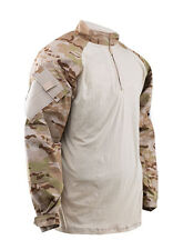 MultiCam ARID Camo 1/4 Zip Tactical Combat Shirt by TRU-SPEC 2536 / FREE SHIP