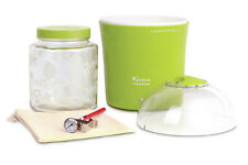 Euro Cuisine 2-qt. Yogurt and Greek Yogurt Maker with Glass Jar