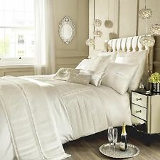 Kylie Minogue Bedding ELEANORA OYSTER Cream Duvet/ Quilt Cover, Cushion / Runner