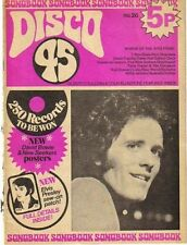 Gilbert O'Sullivan on Disco 45 Magazine Cover 1972  Colin Blunstone Noddy Holder