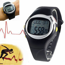 3D Fitness Sport Watch Pulse Heart Rate Monitor With Pedometer Calories Counter