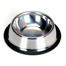STAINLESS STEEL Pet Dog Puppy Cat Food Drink Water Bowl Dish Feeder 1# --5#