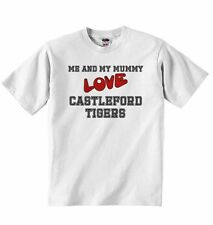 Me and My Mummy Love Castleford Tigers - Baby T-shirt Tees for Boys, Girls