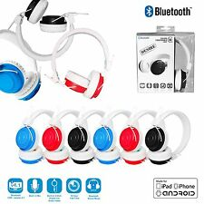 Foldable Wireless Bluetooth Headphones for Kids Childrens iPad Hudl Tablet