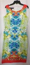 Ladies Size 8P 12P 10 Regular 14 W Sundress Nine West Tropical Floral New Tags