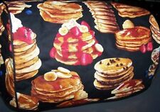 Breakfast Pancakes Quilted Fabric 2-Slice or 4-Slice Toaster Cover NEW