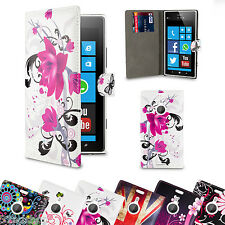 WALLET FLIP PU LEATHER CASE COVER For Nokia Lumia 1520 SCREEN PROTECTOR
