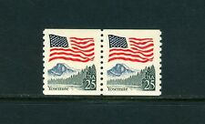 "SCOTT#2280, 25c FLAG OVER THE YOSEMITE, ""BLACK TREES"". NH"