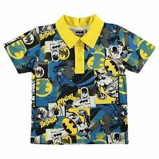 Character Kids Infant Boys Polo T Shirt Short Sleeve Classic Fit Tee Top