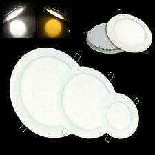 LED Panel Light 6W 9W 12W 18W 24W 33W Ceiling Square Round Down light bulb