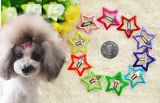 Pet Dog Hair Clip Cute Star Style Mix Colors Cool Bows Grooming bows Topknot