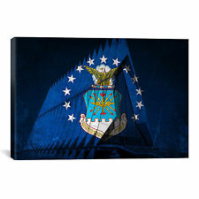 iCanvas Air-Force Flag, US Air Force Academy Chapel Graphic Art on Canvas