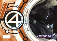 Fantastic Four Movie Costume Card D0003 Dr. Doom Cloak (Black)