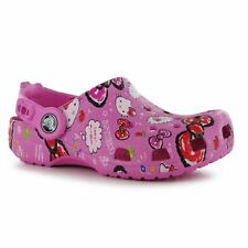 Crocs Kids Hello Kitty Good Times Sandals Clogs Infant Girls Slip On Footwear