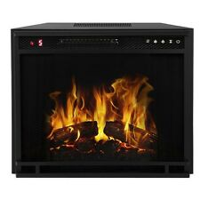 Gibson Living Ventless Space Heater Built-In Recessed Firebox Electric Fireplace