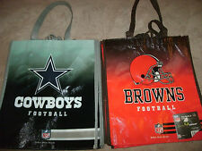 Reusable Recycle Grocery Bag 'Cleveland Browns Dallas Cowboys Steelers' Football