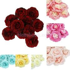 10Pcs Artificial Silk Camellia Flower Heads Wedding Home Party Decoration Crafts