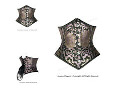 Double Steel Boned Waist Training Brocade Underbust Corset #HC8589(BRO)