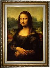 Historic Art Gallery 'Mona Lisa' by Leonardo Da Vinci Framed Painting Print