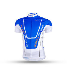 Mens Cycling Short Sleeve Jersey Road Bike Shirt Team Tops Outfits Uniforms